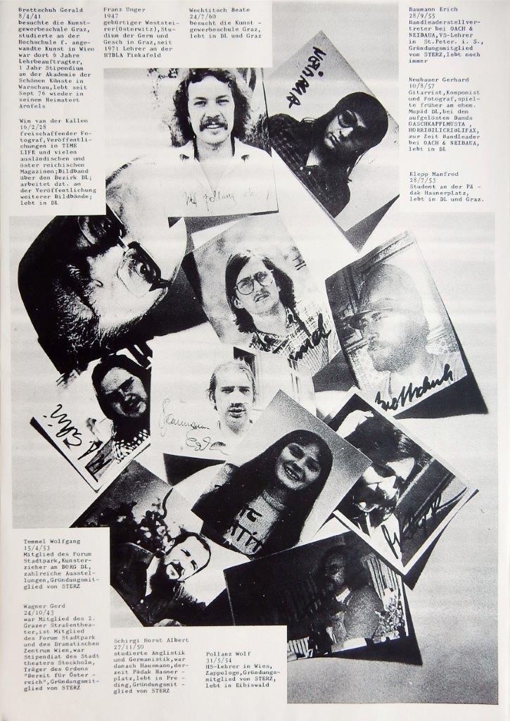 Die Gestalter der Sterz-Ausgabe 3