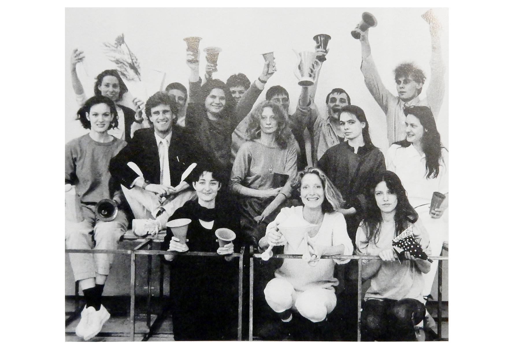 1984, Foto: Universität für Angewandte Kunst, Wien