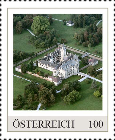 Einzelmarkenmotiv Schloss Grafenegg, Niederösterreich