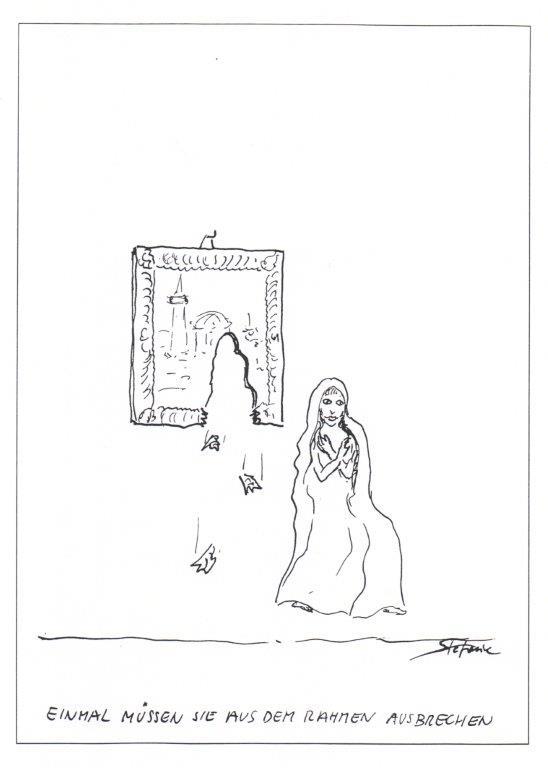 """""""Irgendwann müssen sie ja ausbrechen..."""" © Stefanie Grüssl"""