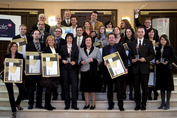 Gruppenfoto aller Gewinner 2008
