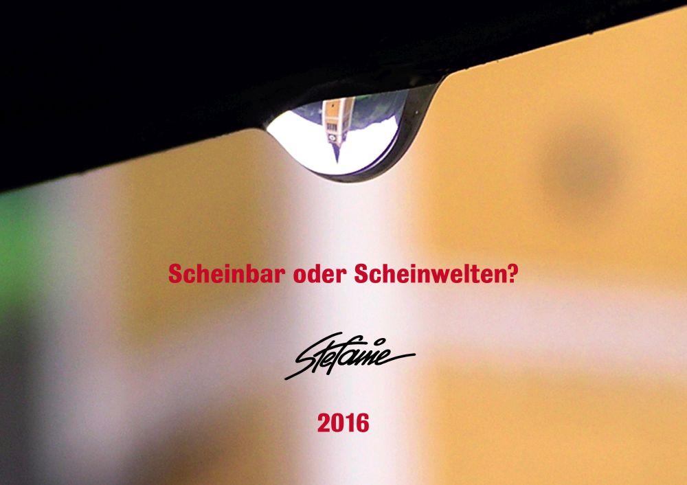 """""""Scheinbar oder Scheinwelten?"""" © Stefanie Grüssl"""