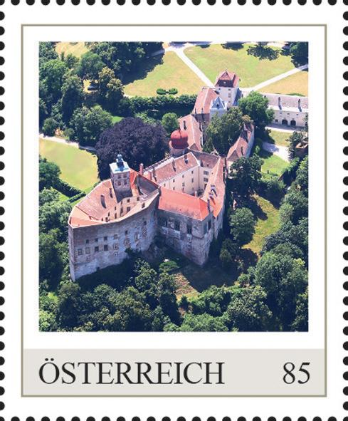 Einzelmarkenmotiv Schloss Ernstbrunn, Niederöstererich