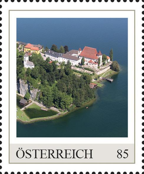 Einzelmarkenmotiv Kloster Traunkirchen, Oberösterreich