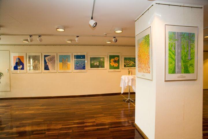 Ausstellung in den Räumlichkeiten der WKO