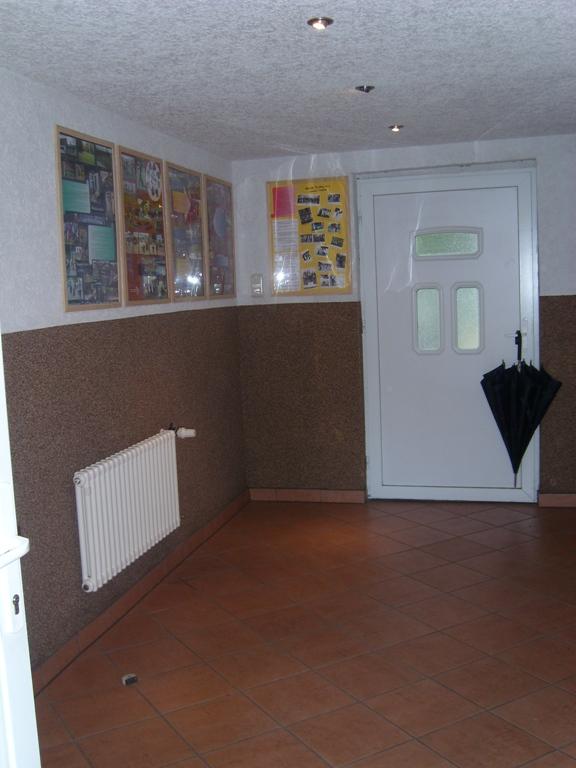 Eingangsbereich mit Vereinsgalerie