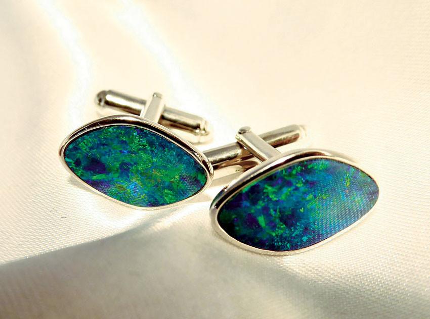 Manschettenknöpfe Opal