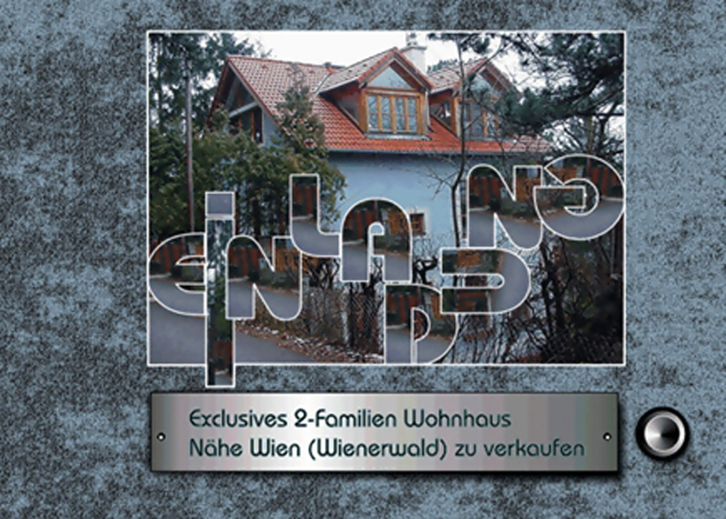 Infobrochüre für Immobilienmakler für hochpreisige Immobilie