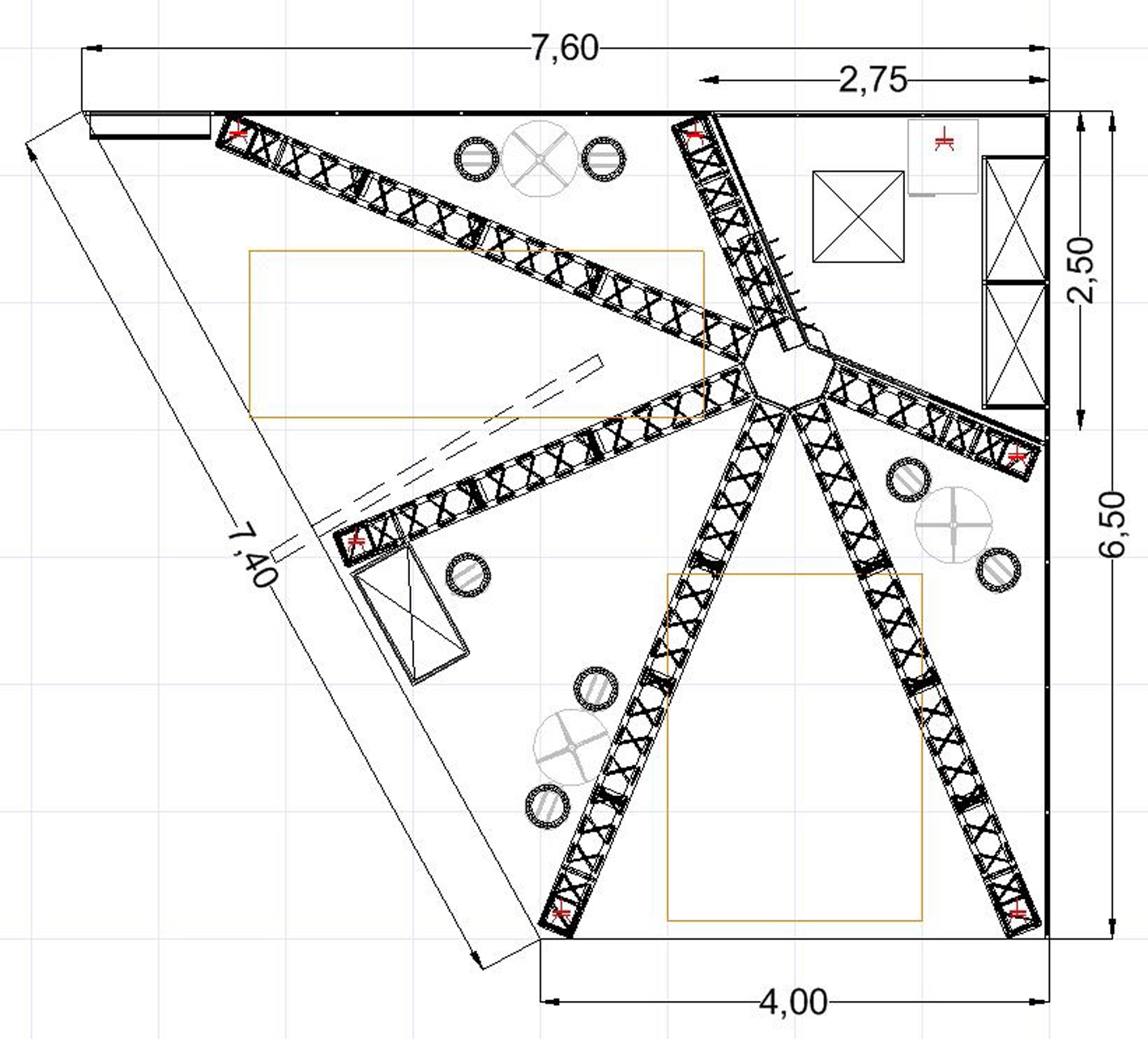 16 a So schauen Skizzen aus, die Sie zu den gerenderten fotorealistischen 3D Plänen erhalten