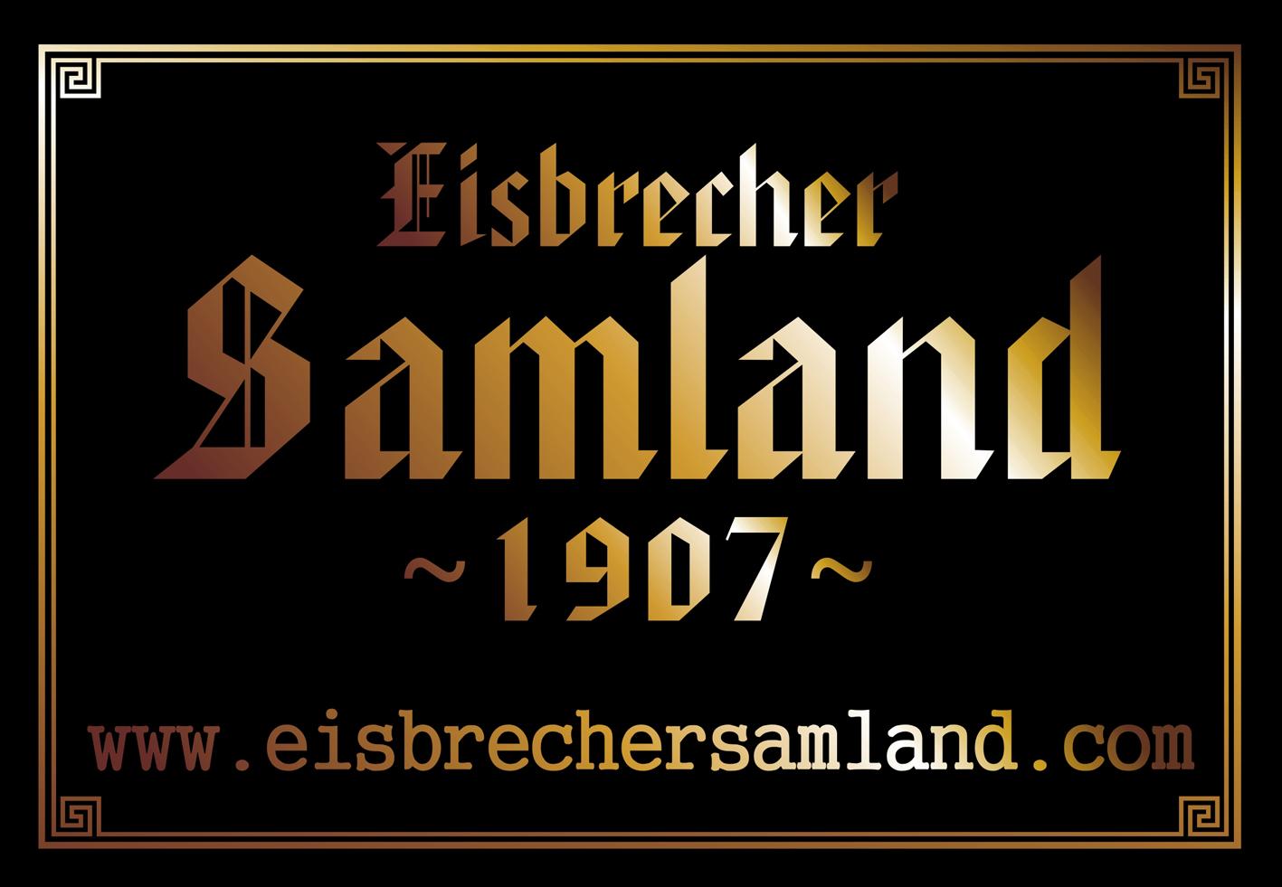 Wir haben die Homepage gestaltet:  www.eisbrechersamland.com