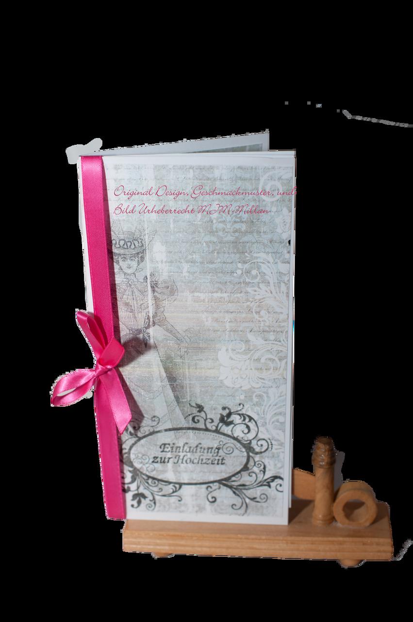 Einladungskarte Karenina