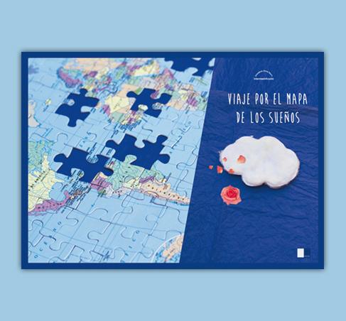 Viaje por el mapa de los sueños, 2015.Durante el viaje de Siria a España, la pequeña Hanan ha perdido algunas piezas de su juguete favorito: un puzle con el mapa del mundo. Una aventura multicultural sin más fronteras que las de la propia imaginación.
