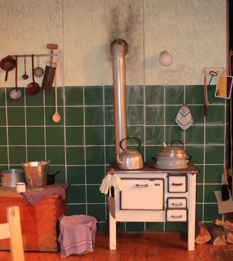 dieser Ofen war bereits 1998 für uns im Einsatz
