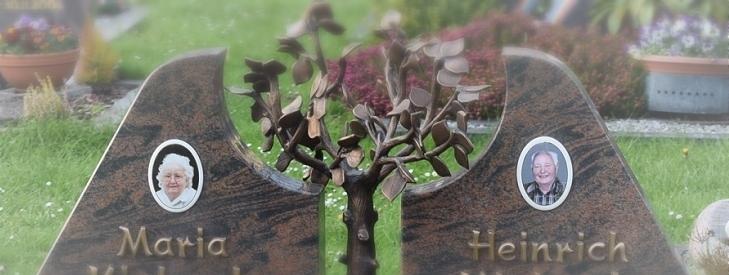 Porzellan Foto für den Grabstein
