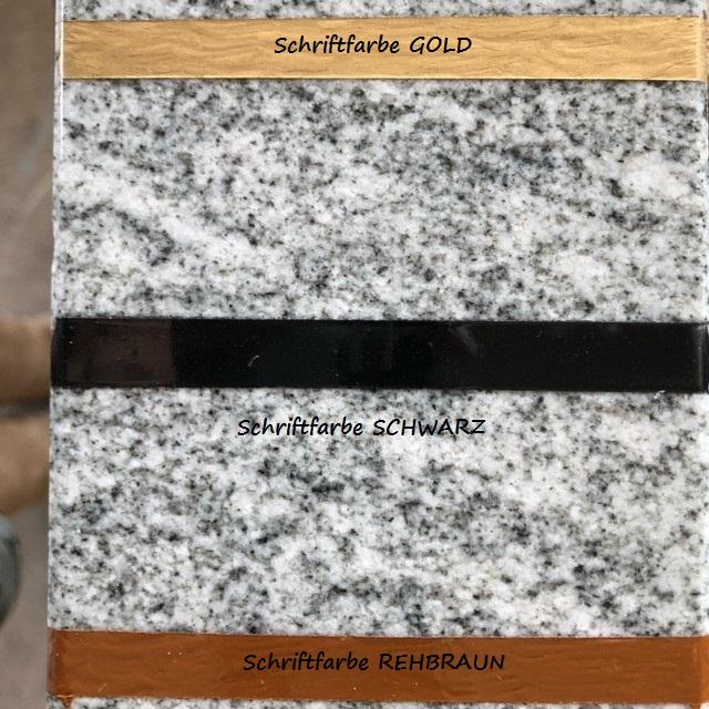 Professionelle Schriftfarbe Fur Naturstein Von Durol Bachmann Grabmale Steinmetz Grabschmuck Schriftfarbe