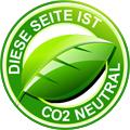 Diese Seite ist CO2 Neutral - Blaser Design setzt sich für die Umwelt ein