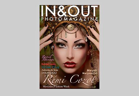 número 9 revista in&out photomagazine, dentro fotos del fotógrafo Víctor Cruz