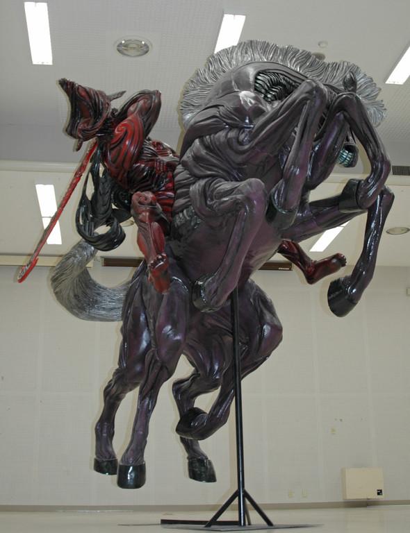 "ODIN+SLEIPNIR - Prototype figure sculptor ""JUNNOSUKE ABE ..."