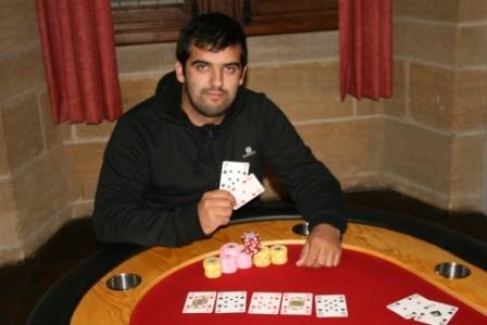 Sergio Lopes vainqueur du 2eme « Main Event » de Sarlat la Canéda