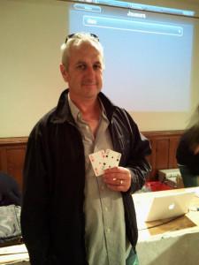 « Dan » joueur d'Albipoker81 vainqueur du 1er « Main Event » de Sarlat la Canéda