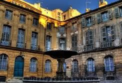 Place Albertas  à Aix-en-provence