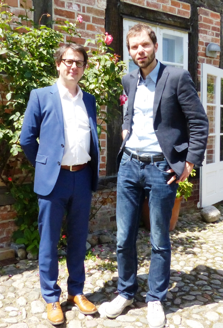 Sebastian Schnoy und Frederic Werner