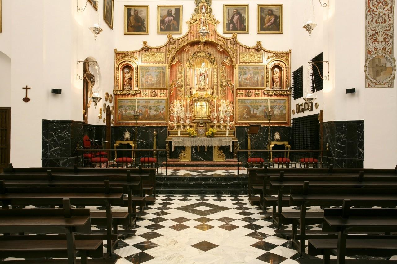 Interior Iglesia de Nuestra Señora de la Sierra (San Calixto)