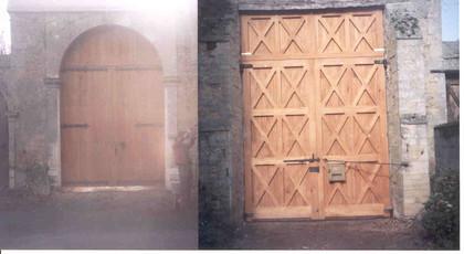 Vue extérieure et intérieure, fabrication bois dans nos locaux