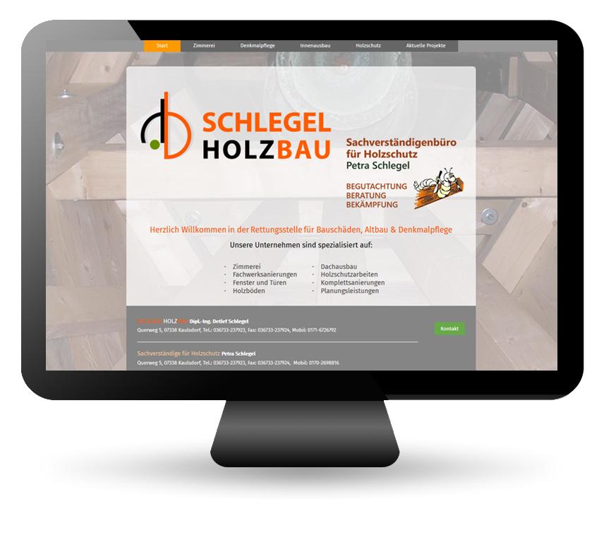 www.schlegelholzbau-kaulsdorf.de
