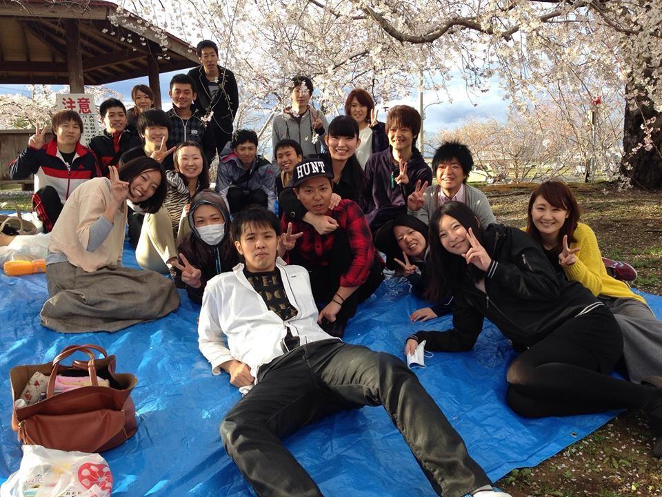 2014/3/30、花見の様子。去年のリベンジを果たしました!