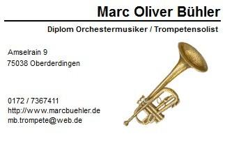 Visitenkarte Marc Bühler