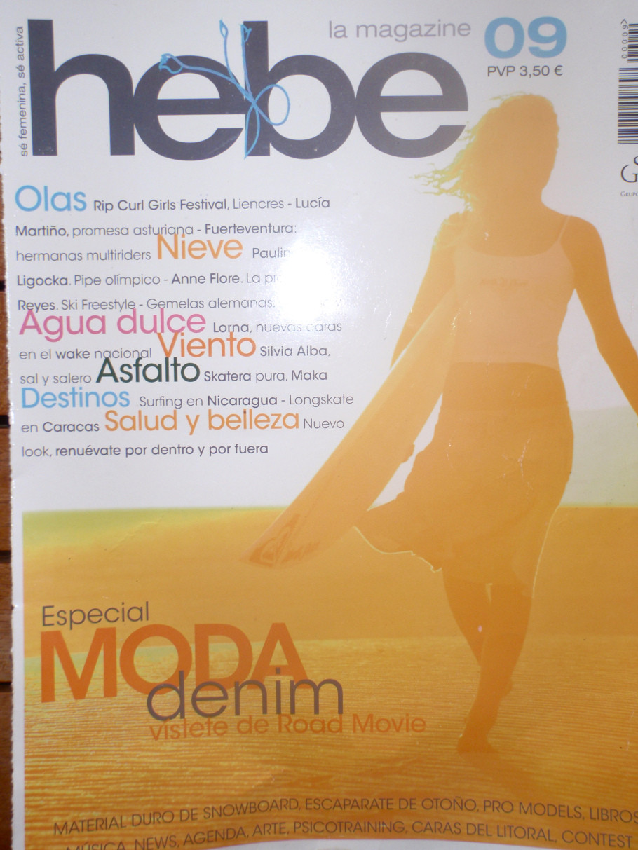 Bebe Magazine Cover 2007