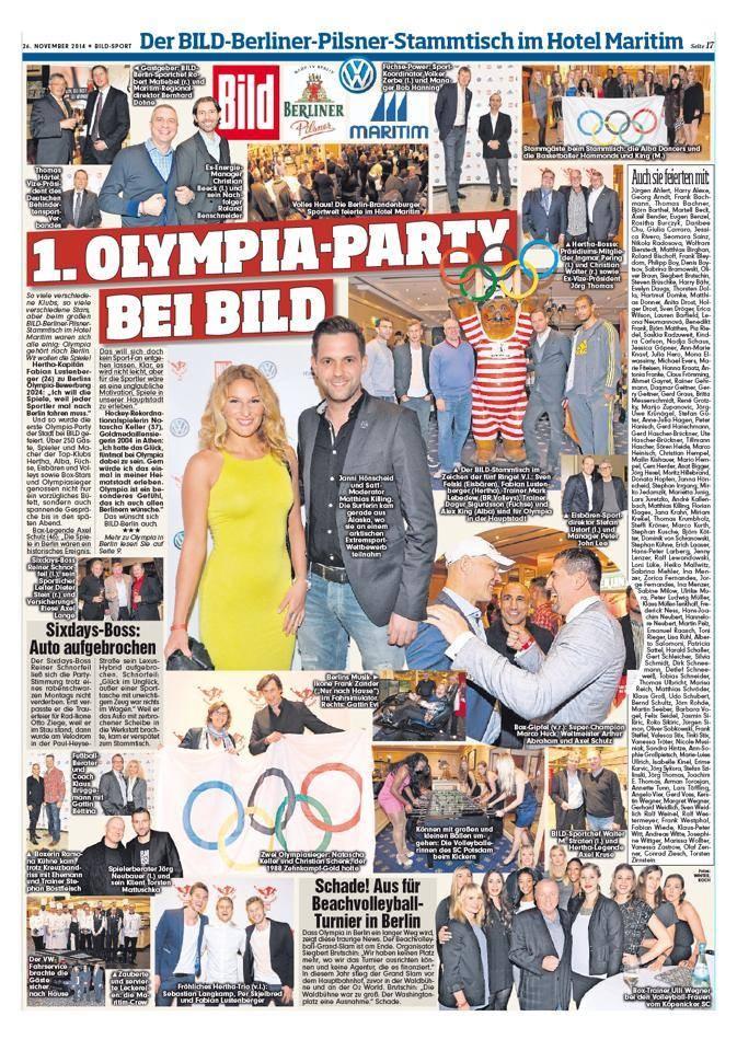 BILD Zeitung November 2014