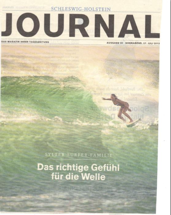 Schleswig Holstein Journal Janni Hönscheid 2013