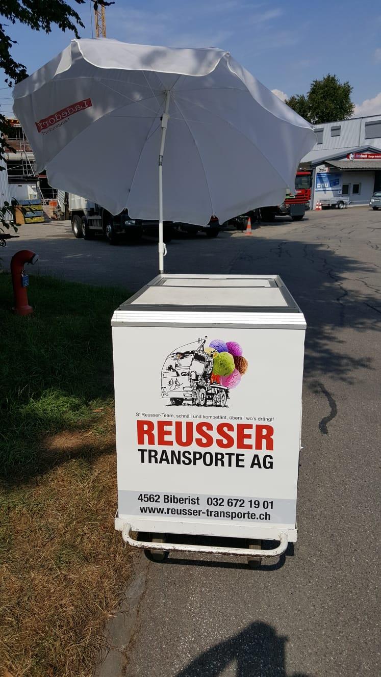 Glacee Wagen - Reusser Transporte AG Biberist