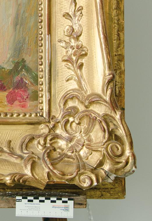 Detailaufnahme, vor der Restaurierung
