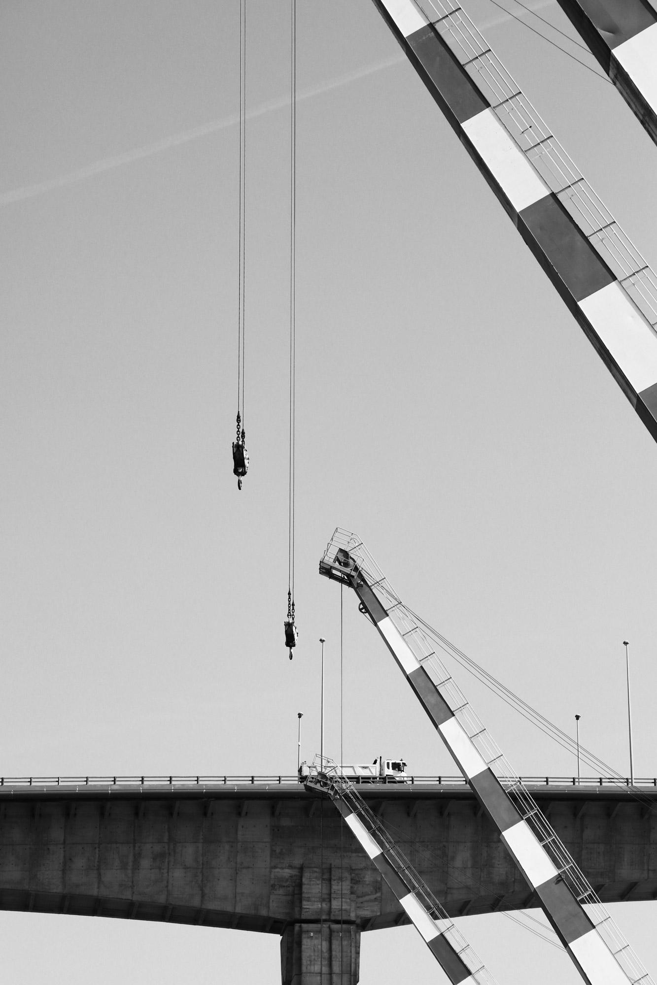 """""""The link"""" - Pont de Cheviré, Nantes. ©Clémence Rougetet"""