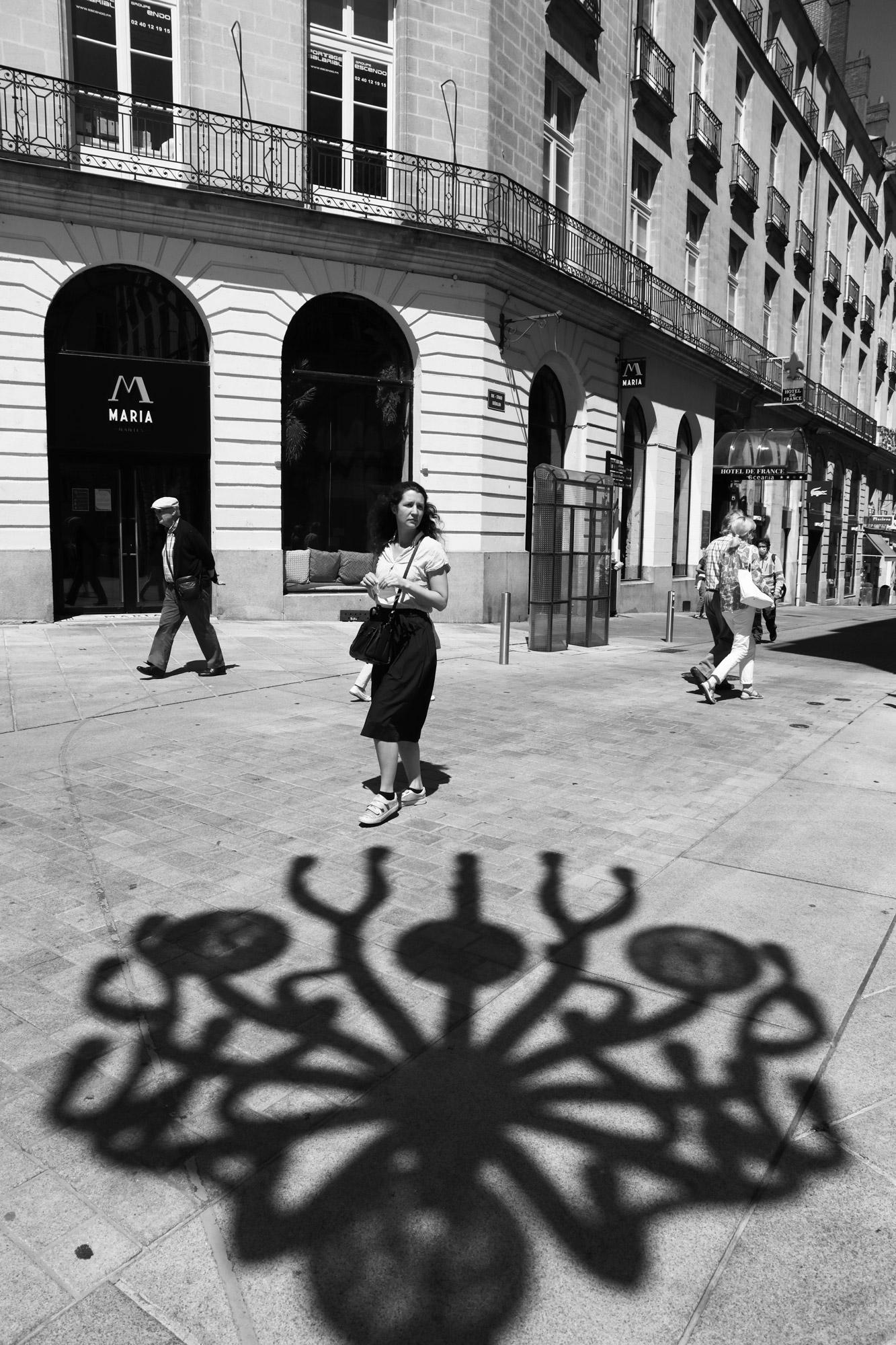 """The spider light"" - Place Graslin, Nantes. ©Clémence Rougetet"