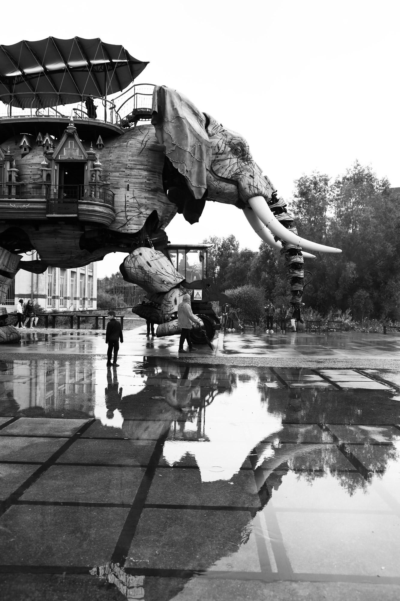 """""""Water step"""" - Les Machines de l'Île de Nantes. ©Clémence Rougetet"""