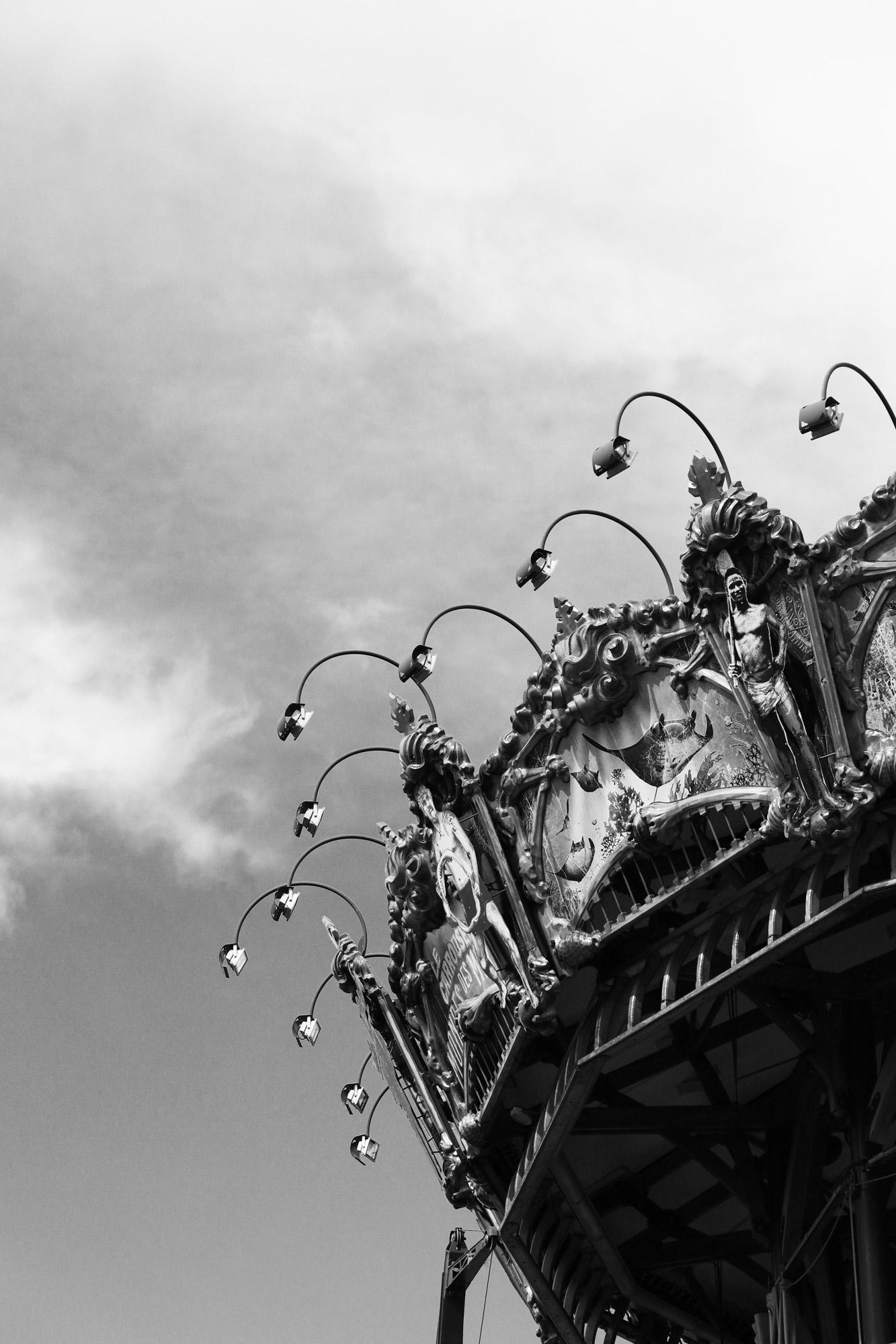 """""""Summer carousel"""" - Les Machines de l'Île, Nantes. ©Clémence Rougetet"""