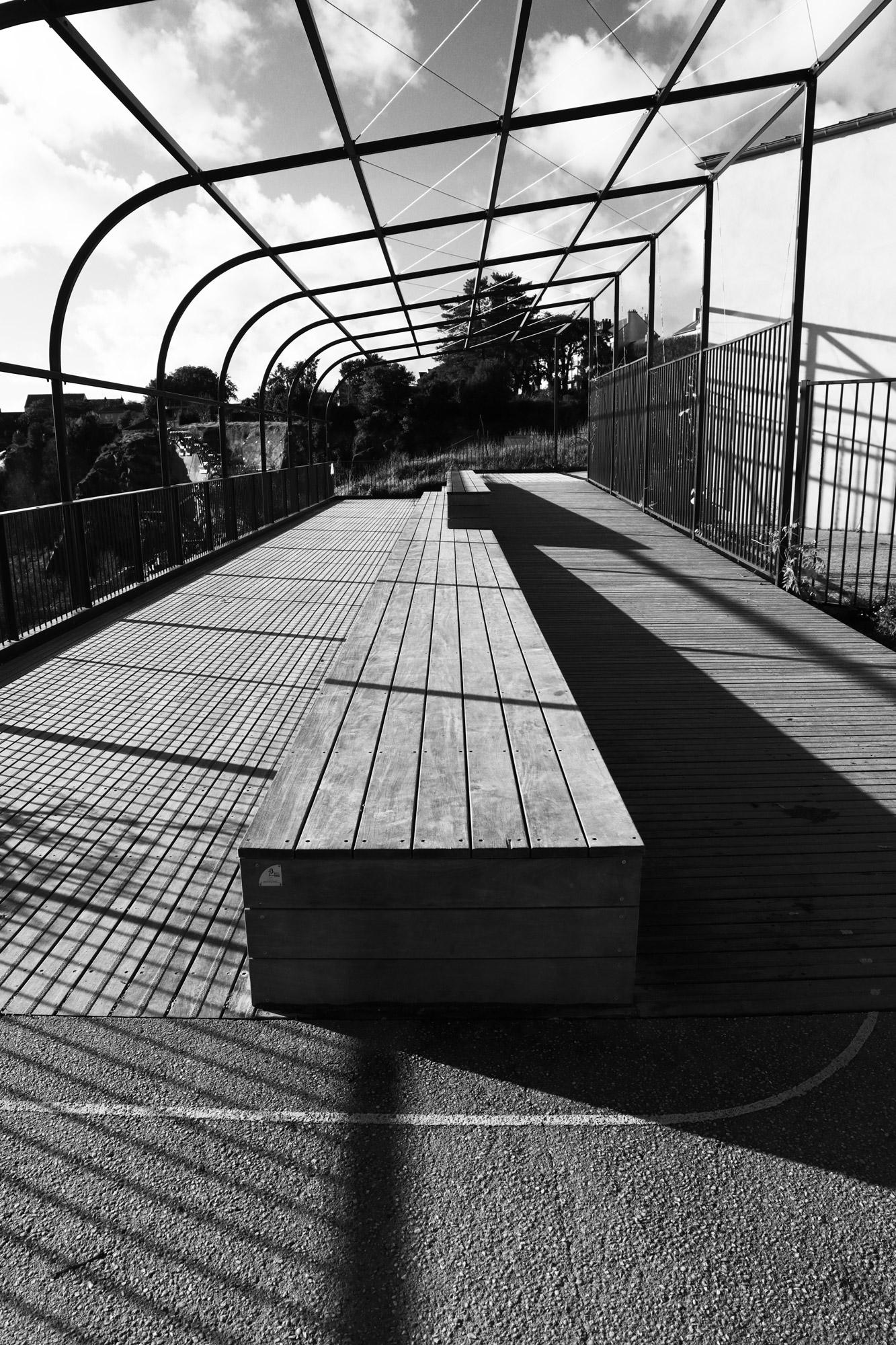 """""""Follow the lines"""" - Butte Sainte-Anne, Nantes. ©Clémence Rougetet"""