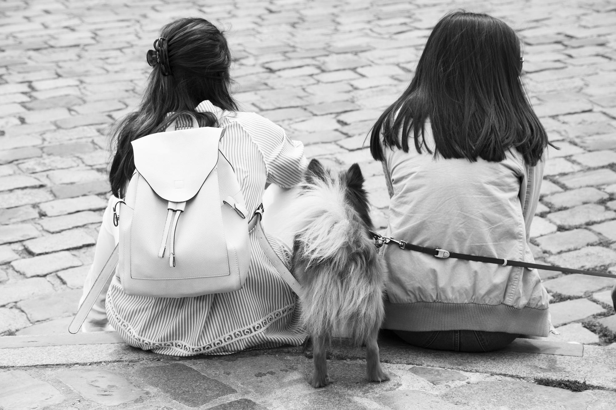 """A story of hair"" - Montmartre, Paris (2017). © Clémence Rougetet"