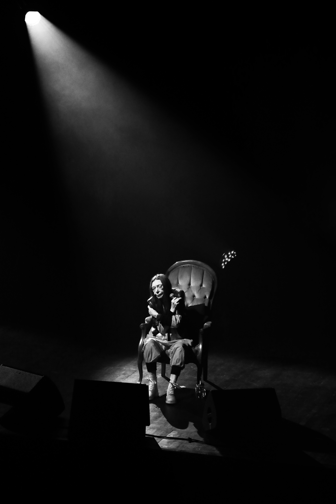 Brigitte Fontaine - Stereolux, Nantes. © Clémence Rougetet