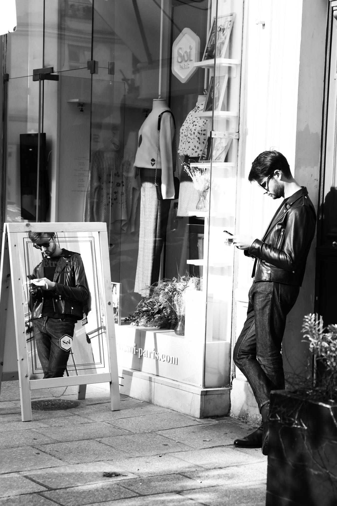 """Shopping mirror"" - Paris (2020). © Clémence Rougetet"