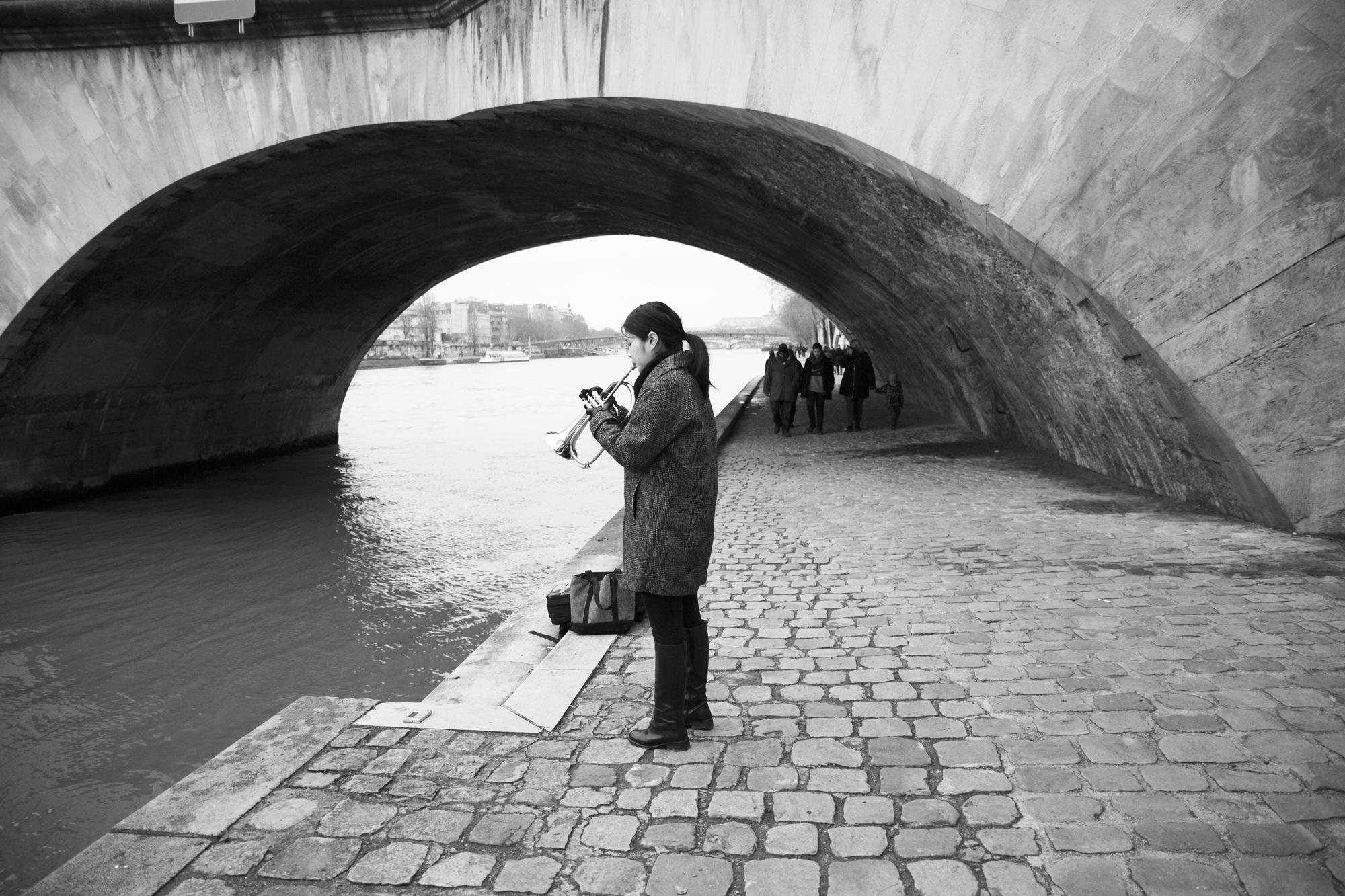 """""""Paris en Seine"""" - Quai François Mitterand, Paris (2018). © Clémence Rougetet"""