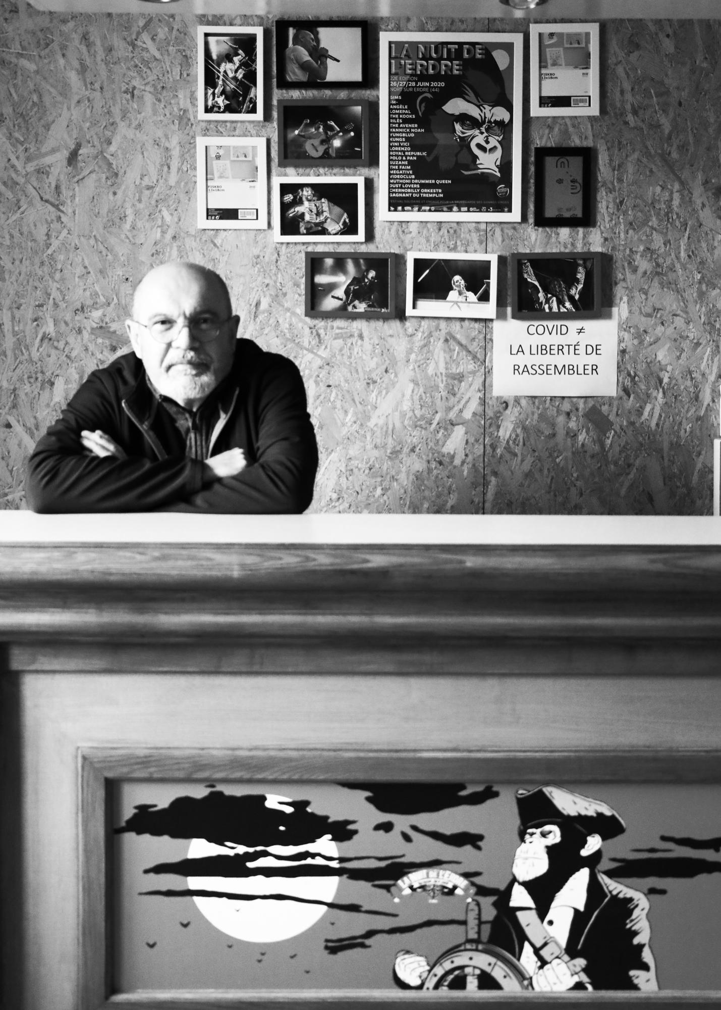 Marc Jolys - Directeur du Festival de La Nuit de l'Erdre. ©Clémence Rougetet