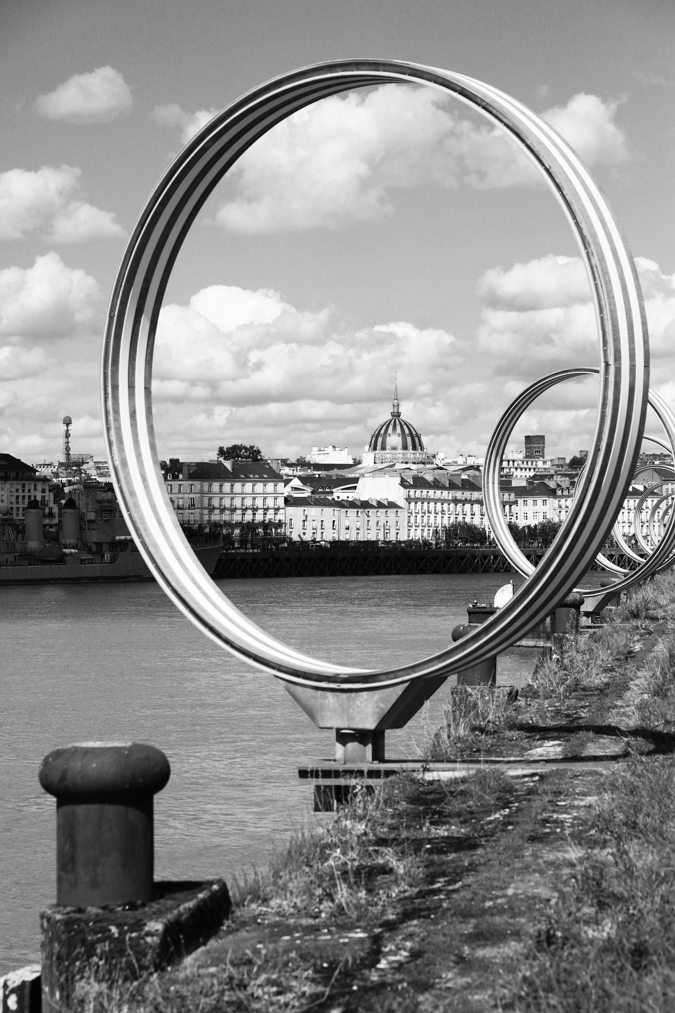 """""""Ringscape"""" - Quai des Antilles, Nantes. ©Clémence Rougetet"""