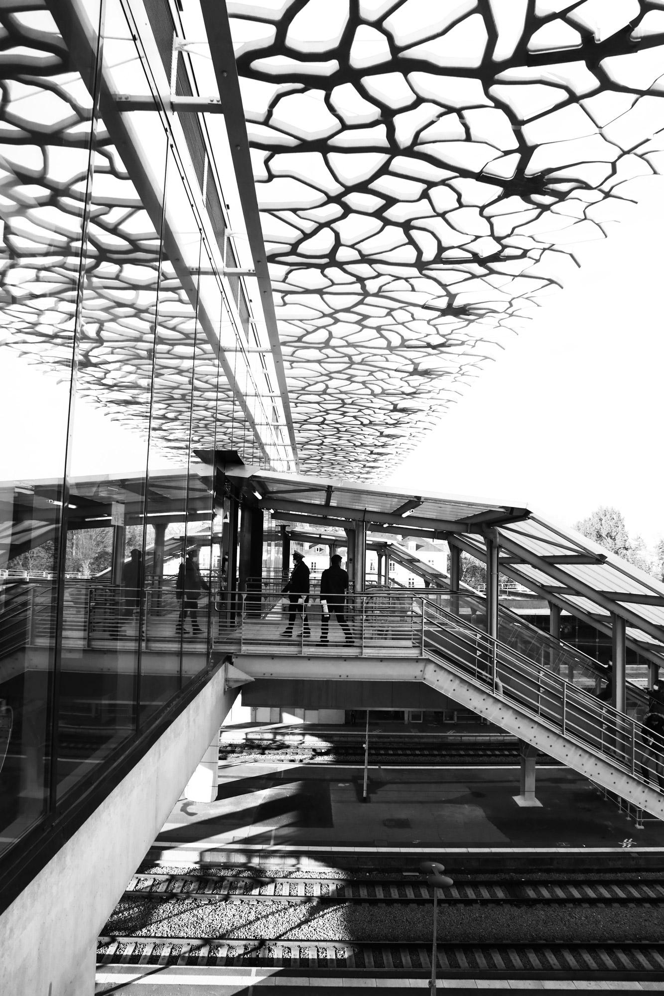 """On the go"" - Gare de Nantes. ©Clémence Rougetet"