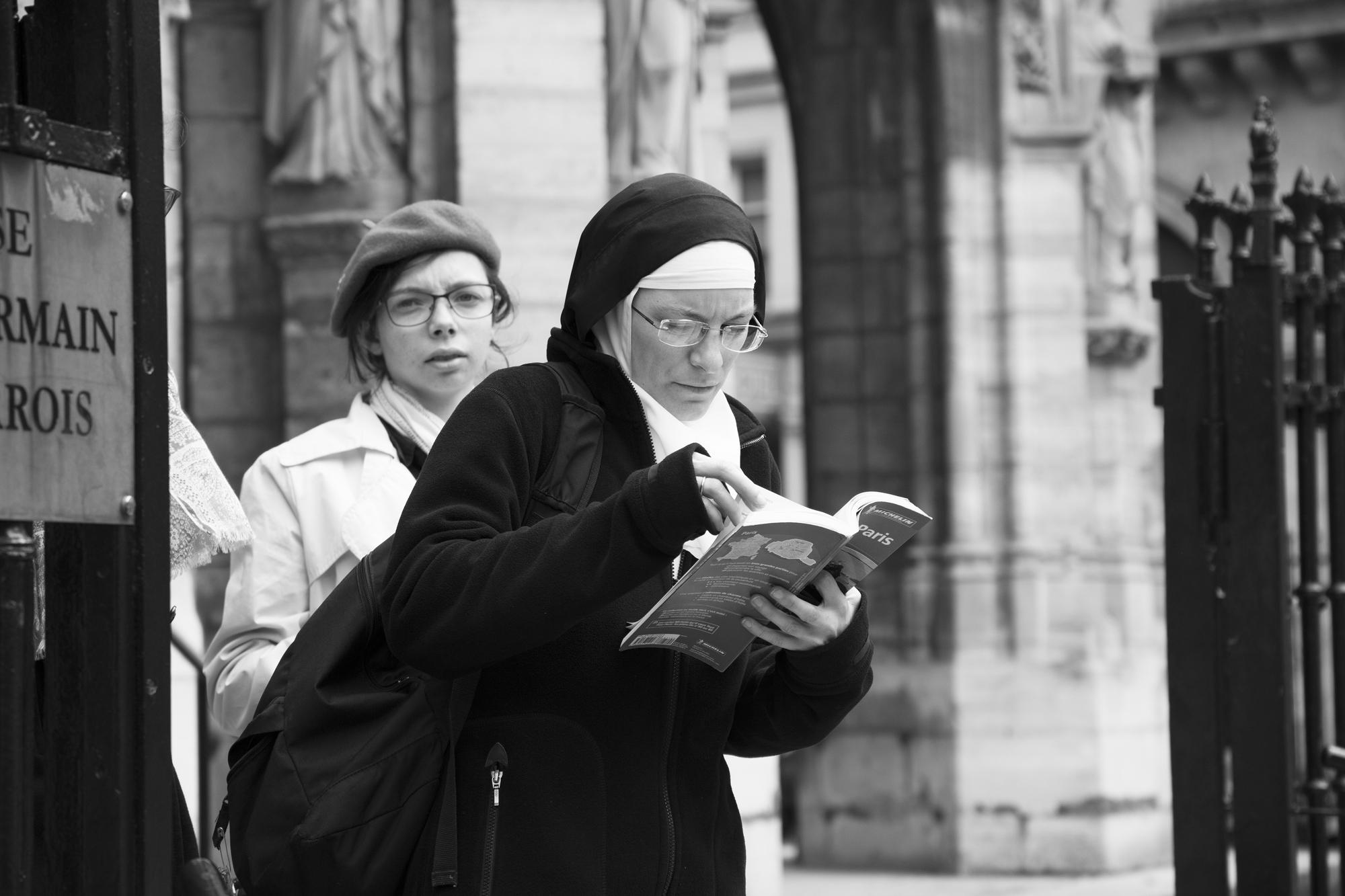 """""""Spiritual education"""" - Église Saint-Germain l'Auxerrois, Paris (2017). © Clémence Rougetet"""