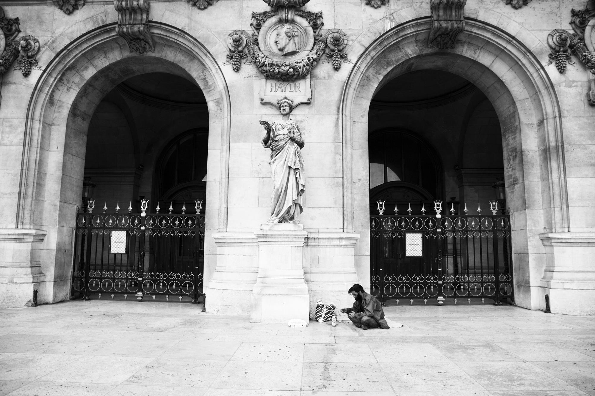 """""""An another life"""" - Opéra Garnier, Paris (2017). © Clémence Rougetet"""